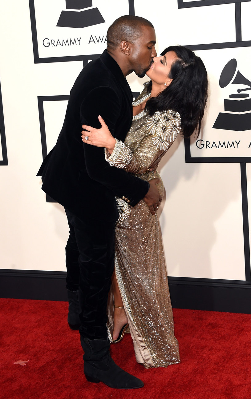 Kanye West i Kim Kardashian /Getty Images