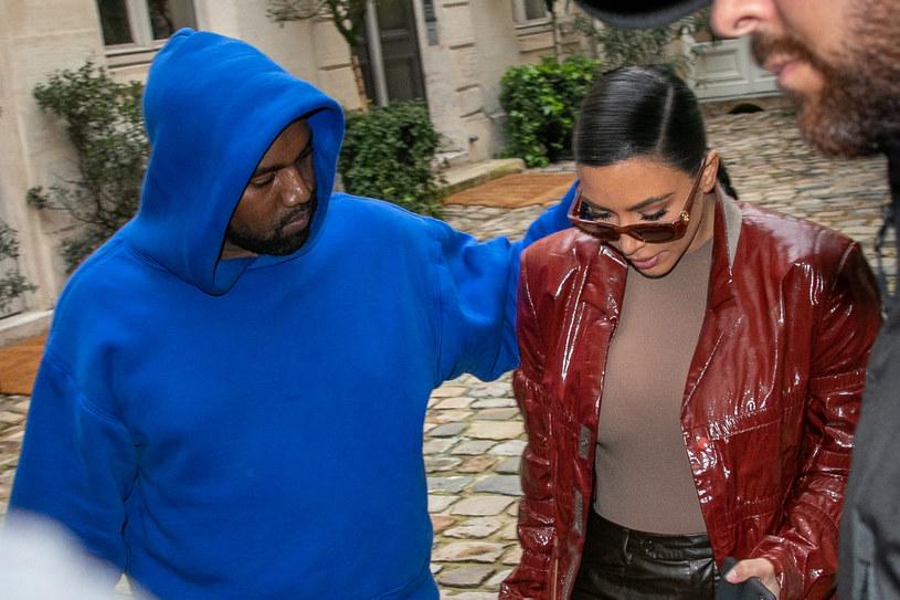 Kanye West i Kim Kardashian /Marc Piasecki /Getty Images