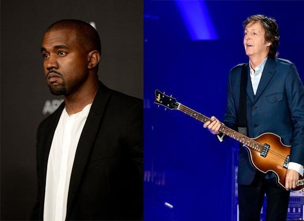 Kanye West i Paul McCartney - fot. Jason Merrit/Kevin Winter /Getty Images