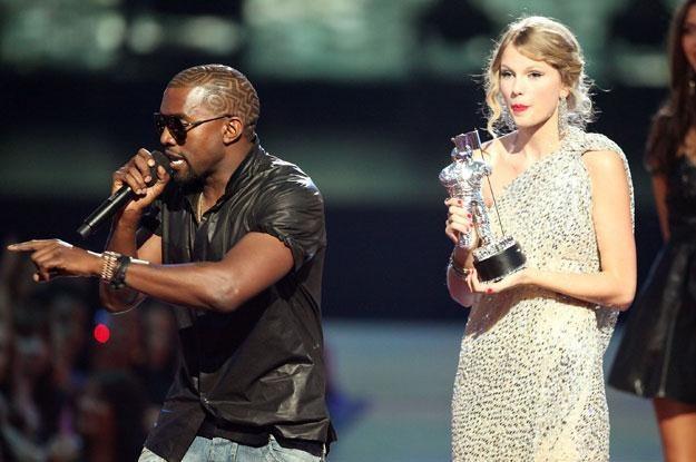 Kanye West i Taylor Swift: Mina piosenkarki mówi wszystko fot. Christopher Polk /Getty Images/Flash Press Media