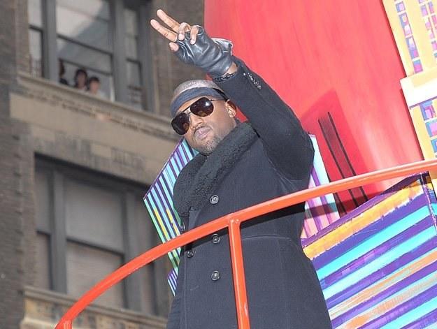 Kanye West jest chwalony ze wszystkich stron - fot. Michael Loccisano /Getty Images/Flash Press Media