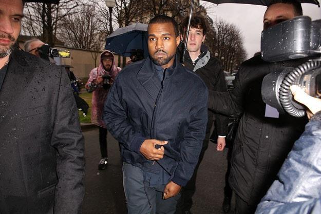Kanye West jest w sobie zakochany z wzajemnością (fot. Pierre Suu) /Getty Images