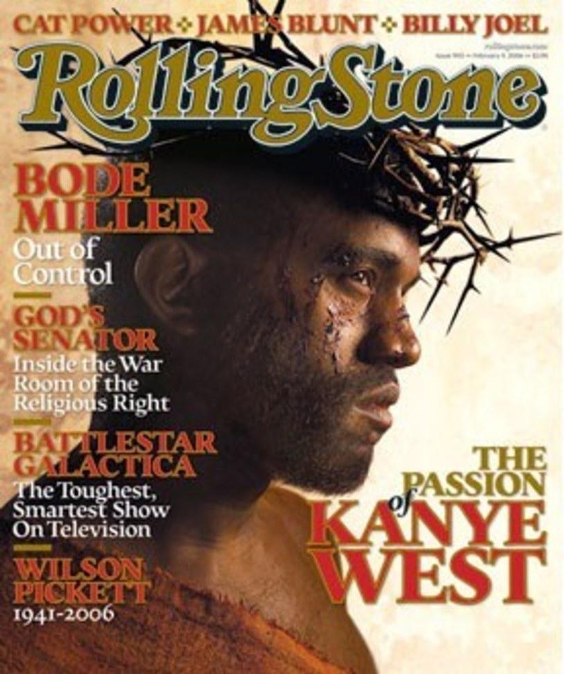 "Kanye West Jezusem na okładce ""Rolling Stone"" /Reporter"