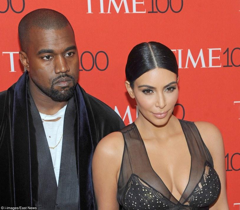 "Kanye West na imprezie magazynu ""Time"" /Face to Face / i-Images /East News"