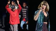 """Kanye West nazwał Taylor Swift """"dzi**ą""""! Kolejny konflikt na horyzoncie?"""