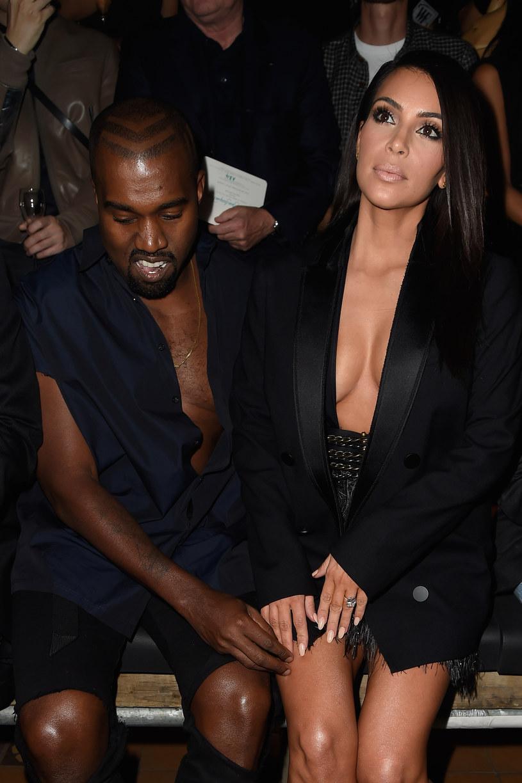 Kanye West pozazdrościł rozgłosu swojej żonie /Pascal Le Segretain /Getty Images