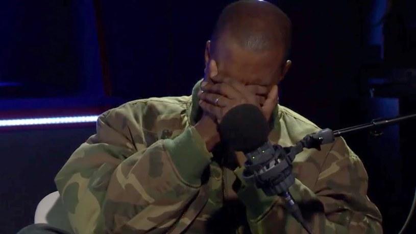 Kanye West w trakcie wywiadu dla BBC Radio /