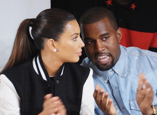 Kanye West z obecną partnerką Kim Kardashian fot. Michael Loccisano /Getty Images/Flash Press Media