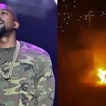 Kanye Westt podpalił się na scenie! Jeden z najbardziej dziwacznych koncertów w historii?