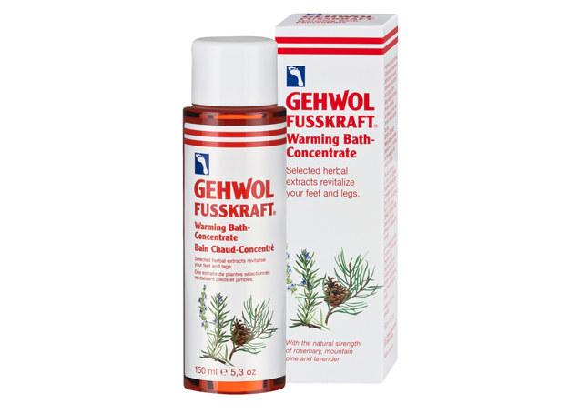 Kąpiel rozgrzewająca Gehwol /materiały prasowe