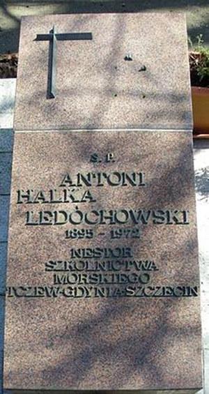 Kapitan Antoni Ledóchowski spoczął w Szczecinie /Archiwum autora
