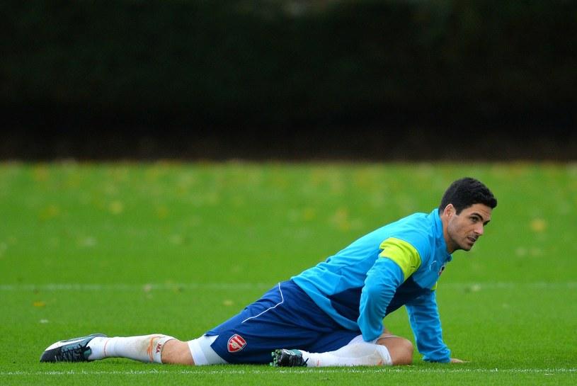 Kapitan Arsenalu Londyn Mikel Arteta /AFP