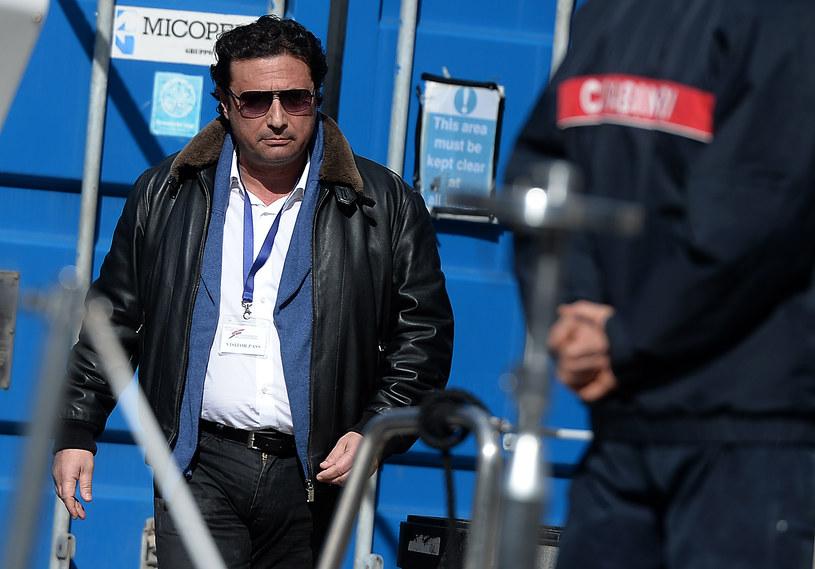 Kapitan Francesco Schettino /AFP