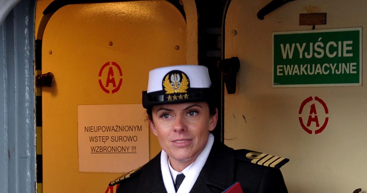 Kapitan Katarzyna Mazurek: Gdybym nie kochała morza, nie służyłabym na okrętach