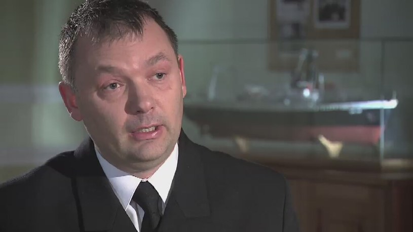 Kapitan Krzysztof Kozłowski /TVN24/x-news