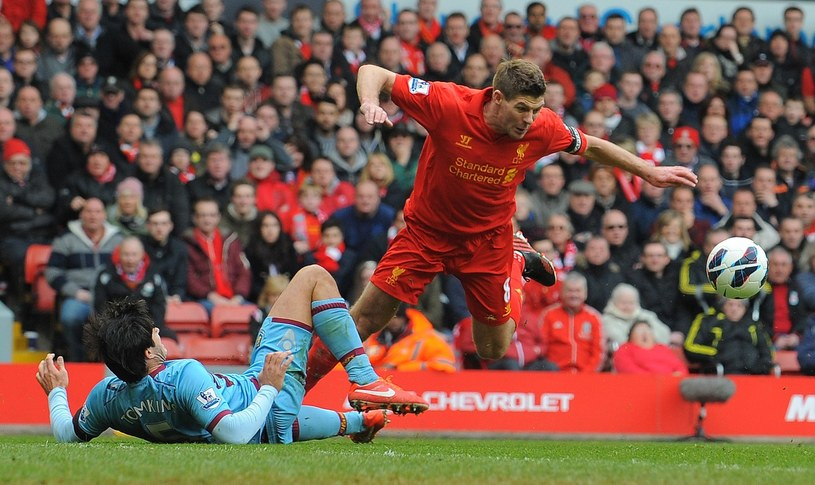Kapitan reprezentacji Anglii i Liverpoolu Steven Gerrard /AFP