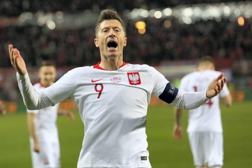 Kapitan reprezentacji Polski Robert Lewandowski /Leszek Szymański /PAP