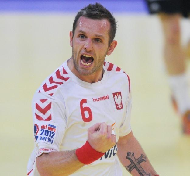 Kapitan reprezentacji Polski w piłce ręcznej Grzegorz Tkaczyk /AFP