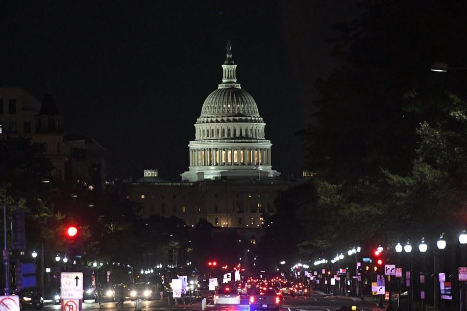 Kapitol Stanów Zjednoczonych /Ron Sachs    /PAP/EPA