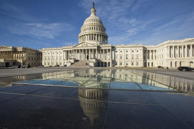 Kapitol Stanów Zjednoczonych /Alex Edelman /PAP/EPA