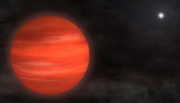 Kappa And b to największa odkryta planeta pozasłoneczna /NASA