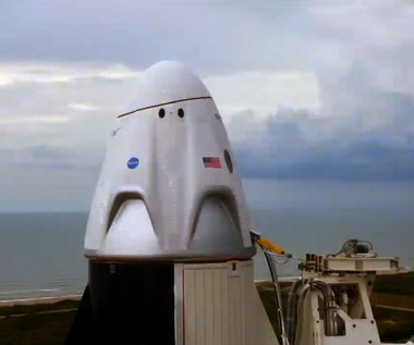 Kapsuła Crew Dragon wylądowała pomyślnie na Ziemi