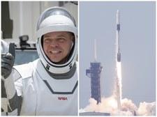 Kapsuła Dragon z dwoma astronautami w drodze na ISS. Historyczny dzień dla NASA i SpaceX [TRANSMISJA]