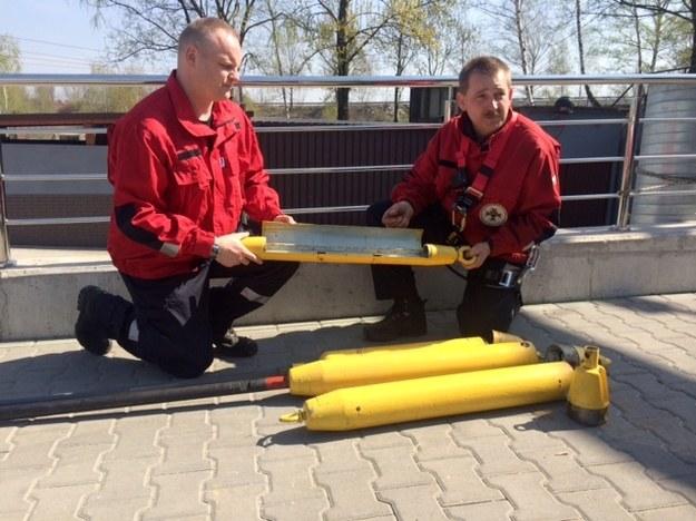 Kapsuły pomogą uratować górników /Anna Kropaczek /RMF FM