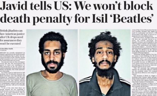 """Kara śmierci dla """"beatlesów""""? Chodzi o Brytyjczyków w szeregach ISIS"""