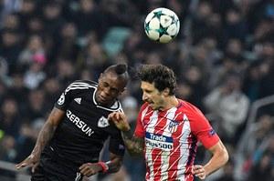Karabach Agdam - Atletico Madryt 0-0 w Lidze Mistrzów. Grał Rzeźniczak