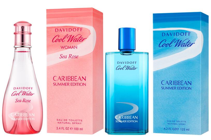 Karaibska edycja Davidoff Cool Water /materiały prasowe