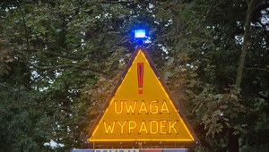 Karambol na A2. Droga na Warszawę zablokowana