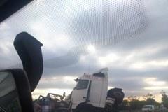 Karambol na A4 pod Wrocławiem. Zdjęcia słuchaczy RMF FM