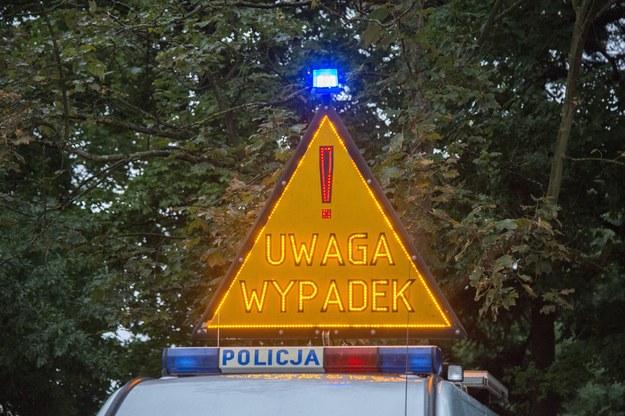 Karambol pod Bydgoszczą (zdjęcie ilustracyjne) /Andrzej Sidor /Agencja FORUM