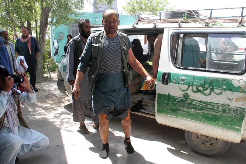 Karambol w Afganistanie /SAYED MUSTAFA   /PAP/EPA