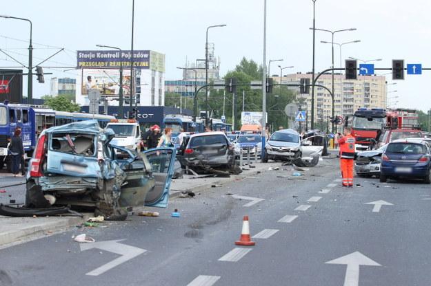 Karambol w Krakowie. Powodem mogły być problemy osobiste kierowcy tira?