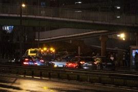 Karambol z udziałem 16 aut w Warszawie