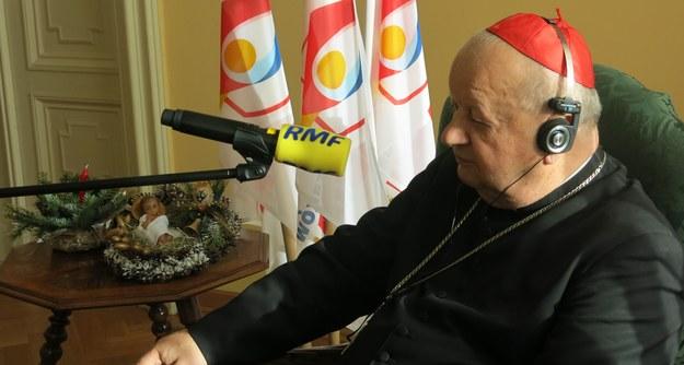 Kard. Stanisław Dziwisz /Jacek Skóra /RMF FM