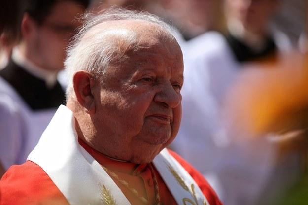 Kard. Stanisław Dziwisz //Łukasz Gągulski /PAP