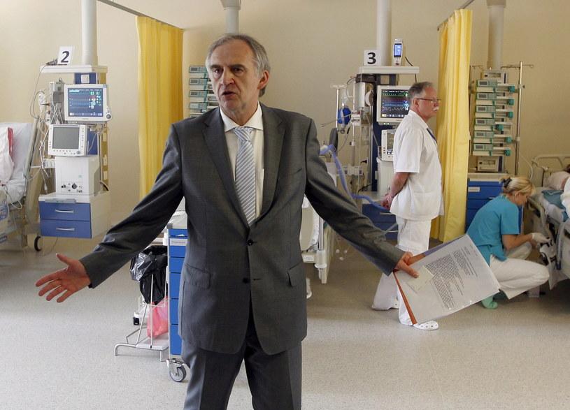 Kardiochirurg prof. dr hab. med. Marian Zembala /Andrzej Grygiel /PAP