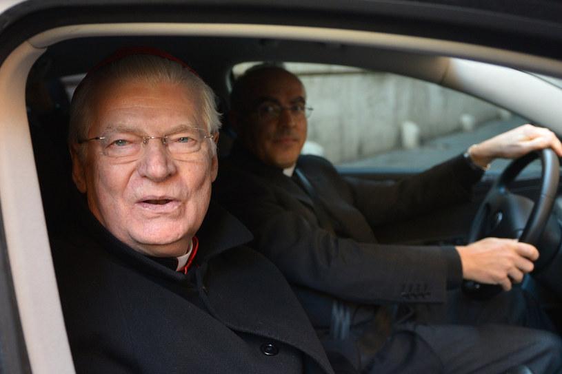 Kardynał Angelo Scola /AFP