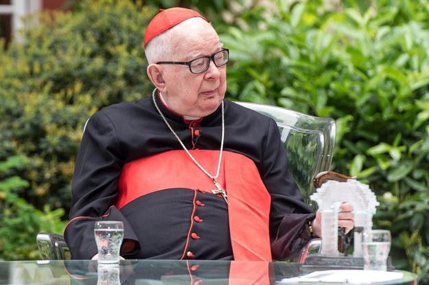 Kardynał, arcybiskup senior archidiecezji wrocławskiej Henryk Gulbinowicz / Maciej Kulczyński    /PAP