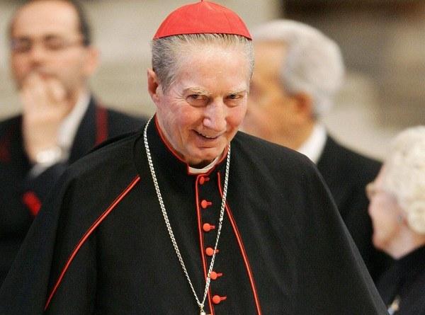 Kardynał Carlo Maria Martini - zdjęcie z 2005 roku /AFP