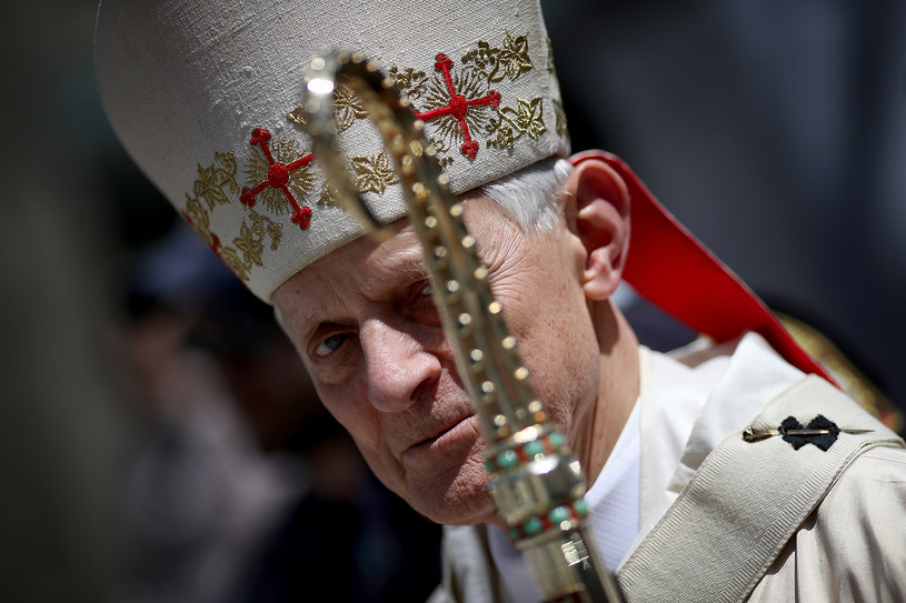 Kardynał Donald Wuerl /WIN MCNAMEE / GETTY IMAGES NORTH AMERICA /AFP