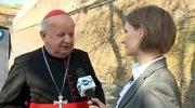 Kardynał Dziwisz o pożeganiu z papieżem