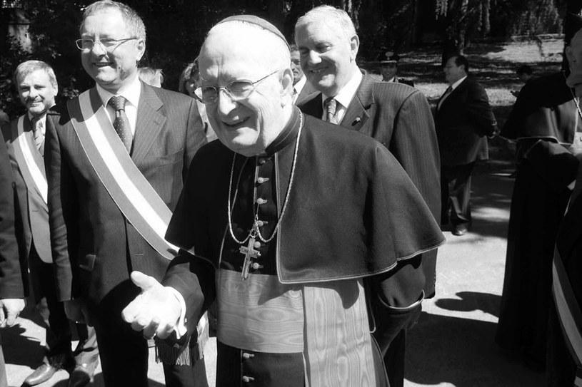 Kardynał Edmund Szoka /IBERPRESS /Reporter