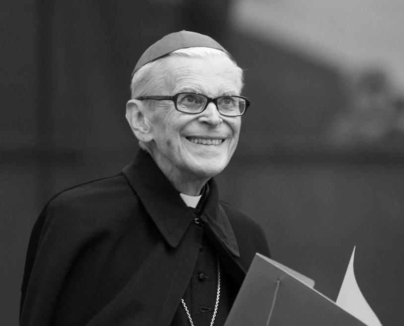 Kardynał Franciszek Macharski, zdjęcie archiwalne /Jacek Bednarczyk /PAP