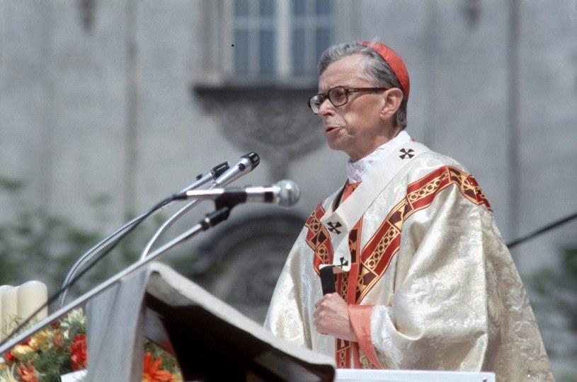 Kardynał Franciszek Macharski /Jerzy Michalski /Agencja FORUM
