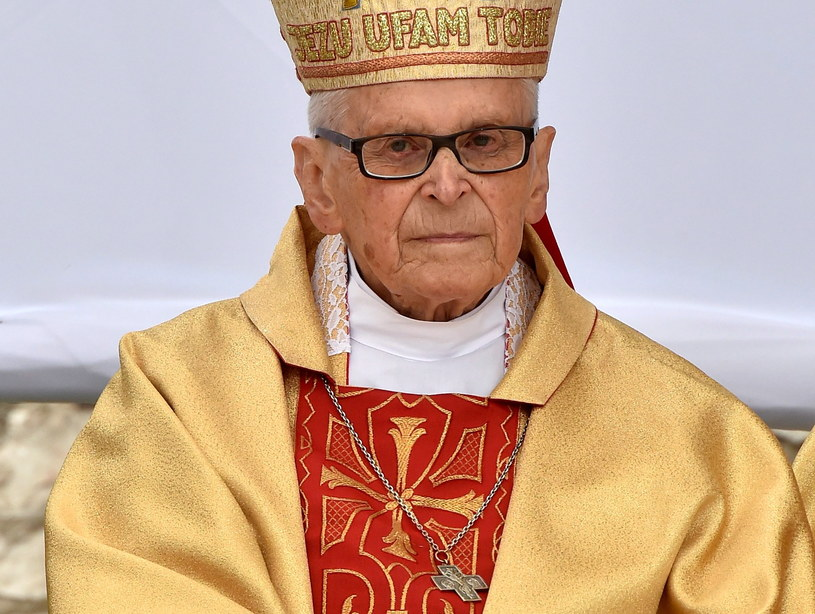 Kardynał Franciszek Macharski /Jacek Bednarczyk /PAP