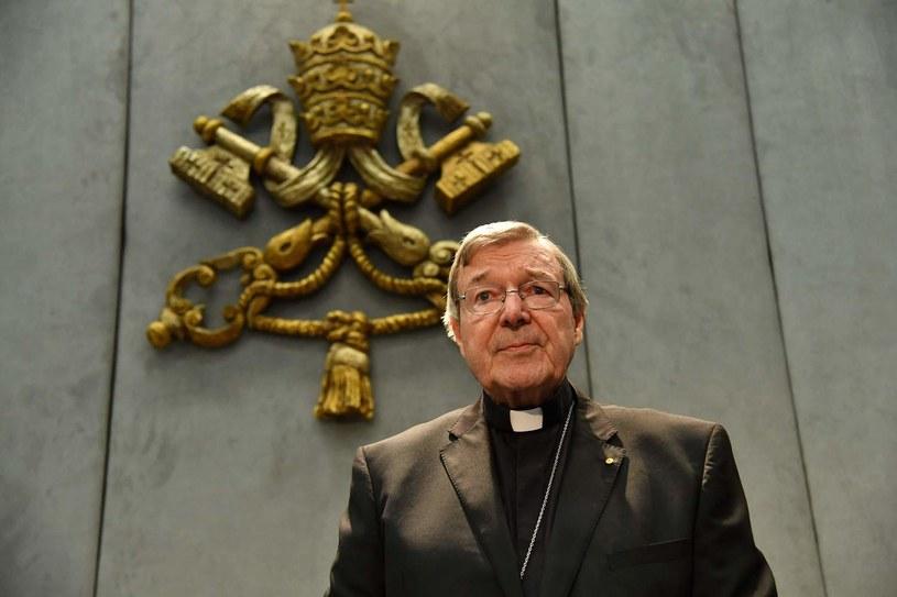 Kardynał George Pell /AFP